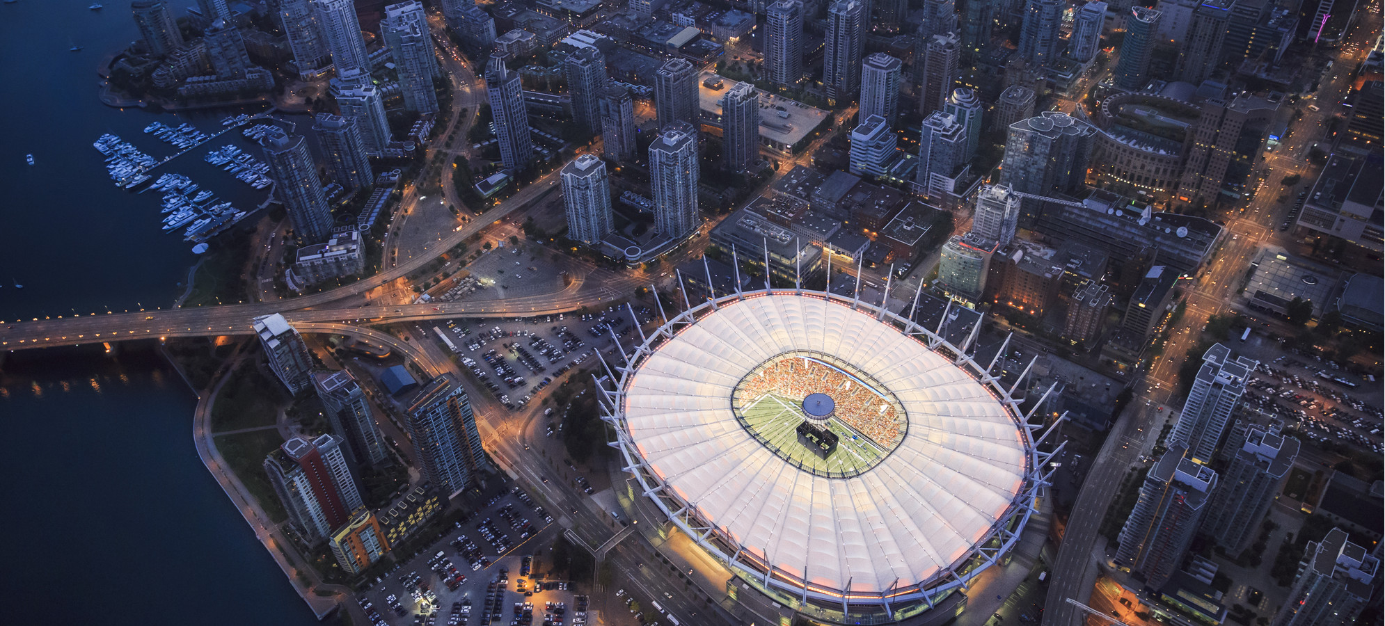 Retractable Roof Bc Place