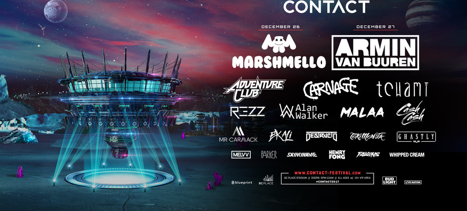 Contact winter music festival is returning to bc place bc place malvernweather Image collections
