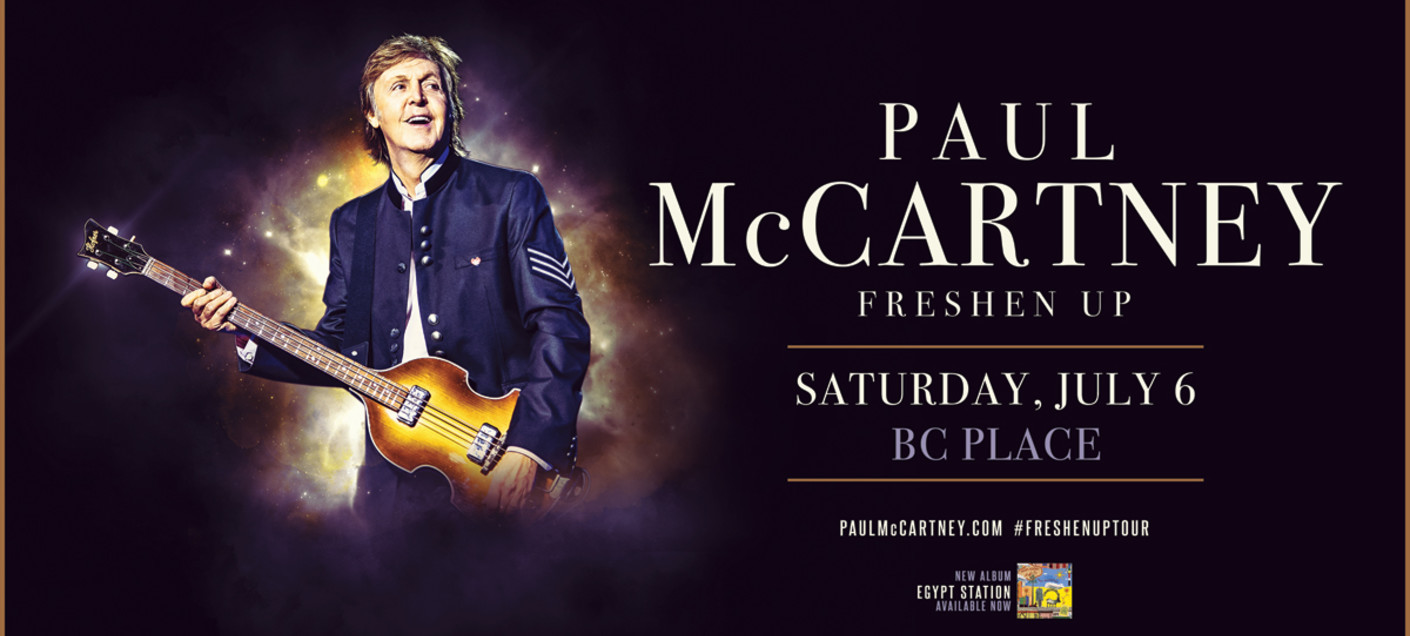 Bildresultat för BC Place, Vancouver and Paul McCartney